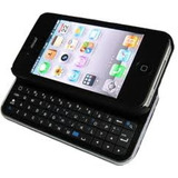 Teclado Ultra-fino Bluetooth C/ Capa P/ iPhone 4 - Pv-k335
