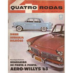 Revista Quatro Rodas Nº 27 Outubro De 1962 - Dner Esbanja