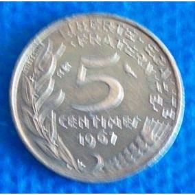 5 Centimes 1967 França