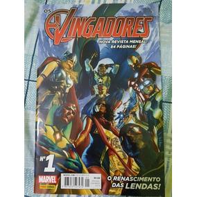 Hq Os Vingadores N° 1