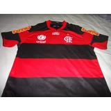 Camisa Do Flamengo De Jogo Usada No Carioca 2012 Tamanho G