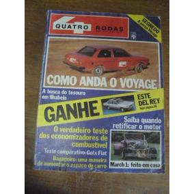 Revista Quatro Rodas N 245 Dezembro De 1981 - Teste Brasília