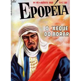 Epopéia Nº 49: O Xeque Do Adrar - 1956 - Ebal