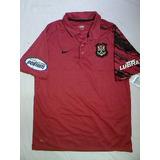 Camisa Polo Flamengo Oficial Nike Escudo Remo 2007 2008 Nova
