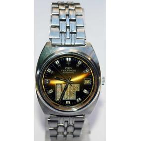 aee9aa2c3b413 Relogio Technos Raro Calendario Perpetuo - Relógios no Mercado Livre ...