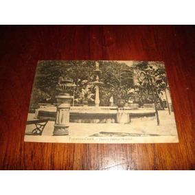 Cartão Postal Antigo - Passeio Público - Fortaleza - 1915