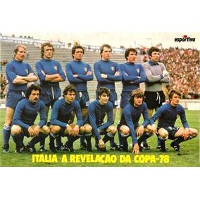 Poster. Seleção Italiana De Futebol. Revelação Copa 1978!