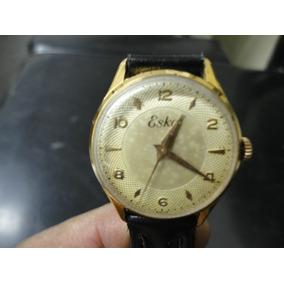 7b777c13a8a Relógio Eska Slim Grandão Antigo Coleção Suiço - Relógios no Mercado ...