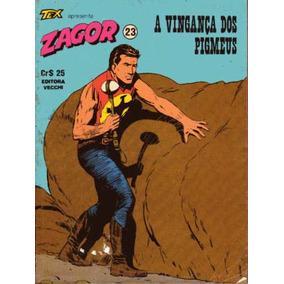 Tex Apresenta Zagor Nº23 A Vingança Dos Pigmeus Ed Vecchi/80