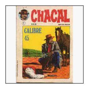 Chacal Nº 1 A 9 - Encadernados - Capa Dura - Ed.vecchi