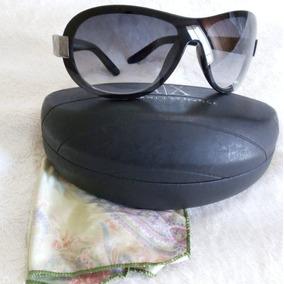 Oculos Sol Armani Mascara Ax189 s Marrom E Preto De - Óculos no ... f60675ced5