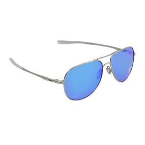 7d0e3f4d5b646 Óculos Masculino Oakley Elmont L Satin Chrome Sapphire Iridi