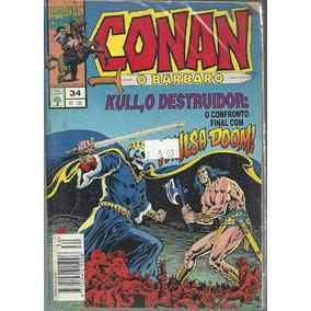 Conan O Barbaro 34 - Abril - Bonellihq Cx07 B19