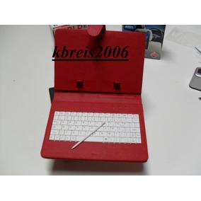 Case C/ Teclado P/ Tablet /iphone/ Gps/ Pda/ Ipad