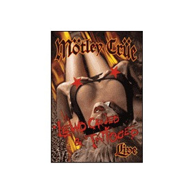 Motley Crue - Lewd, Crüed & Tattooed 2001 Dvd Novo