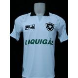 Nova E Rara Camisa Botafogo Oficial Away Fila 7 - 2009 2010 5dfed06bc0e2a