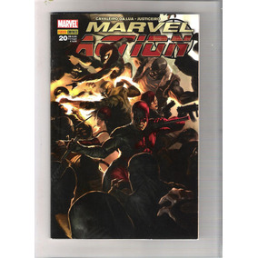 Revistas Marvel Action N. 20-15-16-10 - C. Da Lua - P. Negra