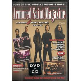 Armored Saint - Magazine Dvd + Cd Anthrax