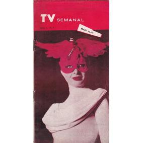 Revista Tv Semanal Nº 6 - Maio De 1958