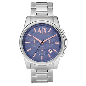 Relógio Masculino Ax Armani Exchange Ax2085 Original - Relógios De ... a8af305a46