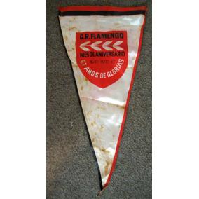 Flamula Antiga Futebol Flamengo 1962