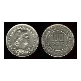 Lote Com 30 Moedas De 100 Réis Coleção 1918 A 1935.