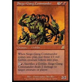 Siege-gang Commander/ Comandante Do Grupo De Cerco
