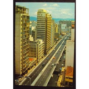 Cartão Postal São Paulo Elevada Costa E Silva