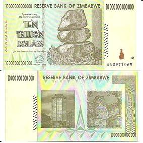 82.064 - Zimbabue - 10 Trilhões De Dollars - 2008 - F E