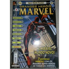 Gibi Grandes Heróis Marvel Nº 1 Super Heróis Premium - Abril