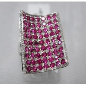 423ef6d6988 Anel Ouro Branco Rubi E Diamantes - Joias e Bijuterias no Mercado ...
