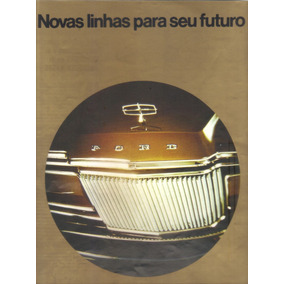 Propaganda Carro Antigo Ford Ltd Landau
