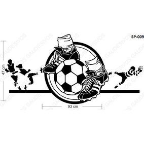 223324f074 Adesivo De Parede Decorativo Futebol Extra Grande Bola Lindo - Casa ...