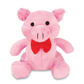 Porca De Pelúcia Porquinha Rosa 21 Cm Lavável Anti Alérgico