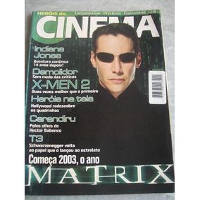 Revista Herois Do Cinema - Matrix, Indiana Jones, X-men