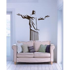 247b8485fa7 Adesivo Decorativo Cristo Redentor 92cm X 100cm - Grande