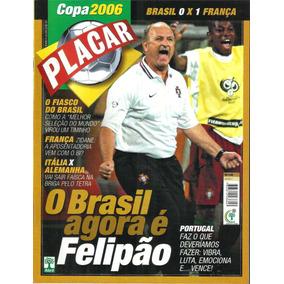Placar Copa 2006. Edição 05. Brasil 0 X 1 França. Nova!