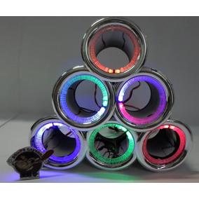 Duto 3 - Metalizado Cromado Caixas Led - Som Automotivo