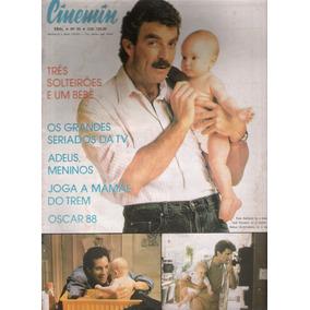 Revista Cinemin Nº 43- Maio De 1988 - Tom Selleck