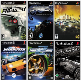 Patch Need For Speed Collection 6 Jogos Para Ps2 É Patche!