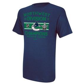 Camisa Vancouver Canucks Nhl Hockey Hoquéi Azul Tamanho M bb30d7a2fea