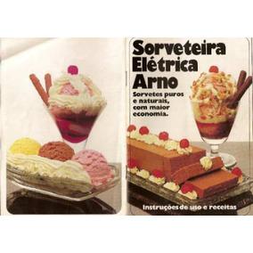 Livro De Receitas Sorveteira Arno