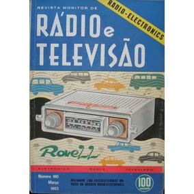 Revista Monitor De Radio E Tv. No.180. Março De 1963