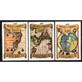 1972 - 4ª Exposição Interamericana De Filatelia - Mapas (3)