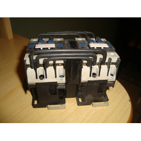 Contactor Inversor Telemecanic Lc1 D12-01 110vca Modelo Novo