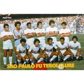 Poster. São Paulo F. C. 1979/1980. Manchete Esportiva