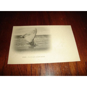 Cartão Postal Antigo - Praia De Pesca - Jangada Cearense