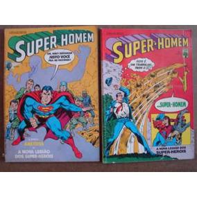 Super-homem Nºs 27 Ao 125 Ed. Abril Preço Para 10 Gibis