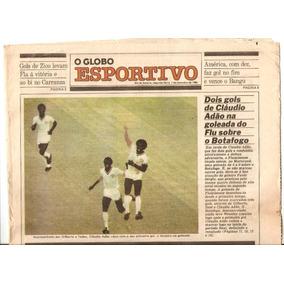 Jornal Globo Esportivo Fluminense 4 X 0 Botafogo 1980