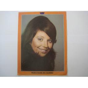 Poster Dupla Face Revista Contigo Luis Carlos Braga / Maria